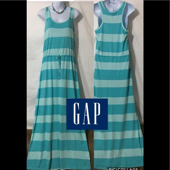 GAP Dresses & Skirts - GAP STRIPED MAXI DRESS